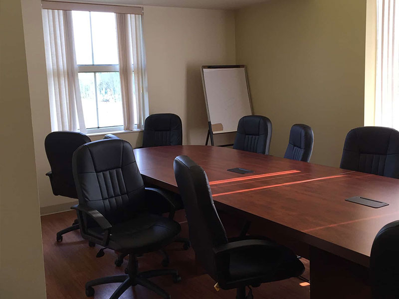 A conference room at Southwood Hospital
