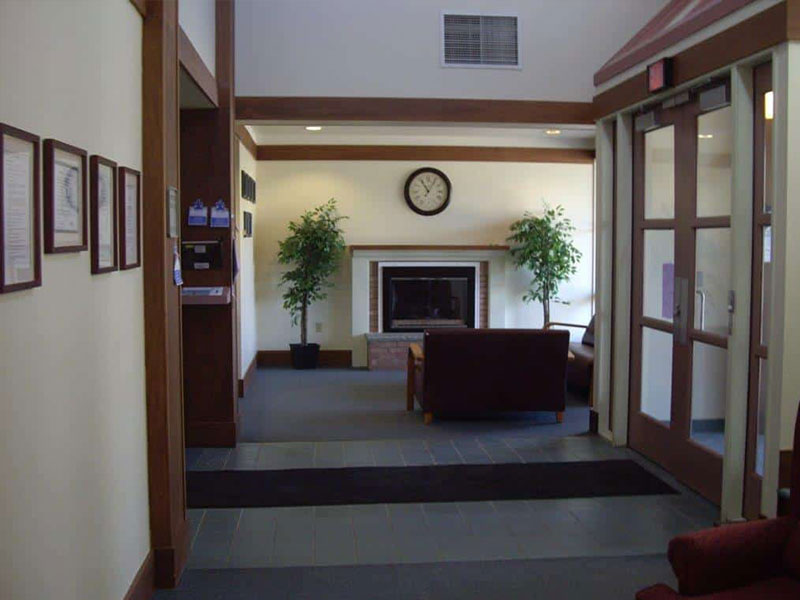 A view of the lobby at Southwood Hospital